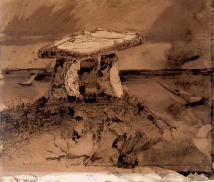 Dessin-du-dolmen-d-ou-ma-parle-la-bouche-dombre.